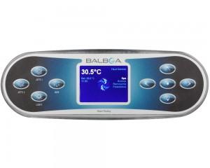 Balboa TP800 Control Panel + Sticker